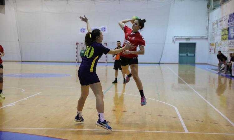 Pallamano femminile, la Polisportiva Cingoli vince contro la Cassa Rurale Pontinia