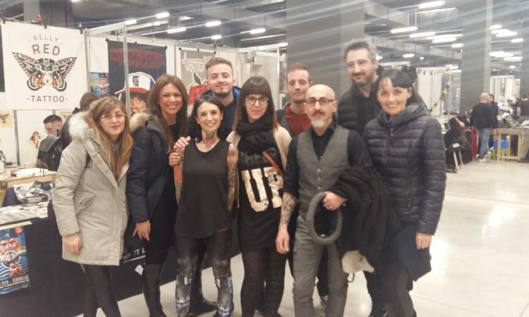 Confartigianato Imprese Macerata presente al Milano Tattoo Convention 2018