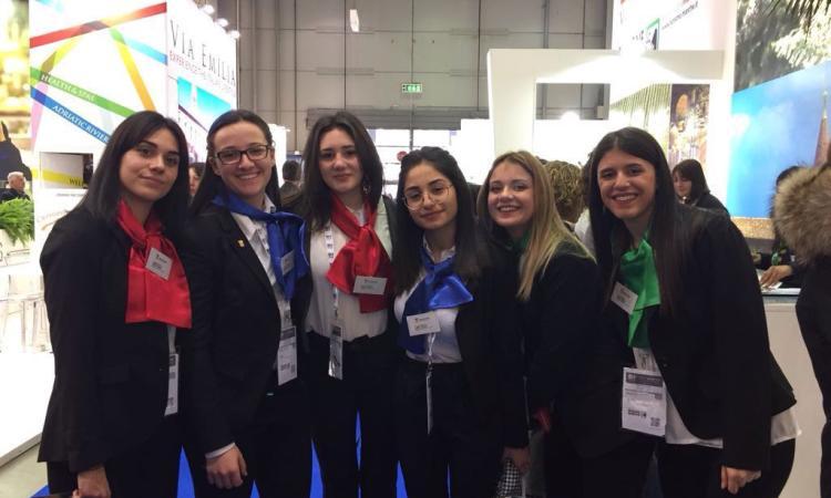 Gli studenti dell'IIS Matteo Ricci di Macerata alla BIT di Milano - VIDEO