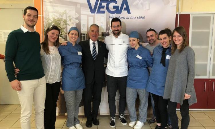 """L'Alberghiero di Cingoli alle finali del concorso """"VEGA Champion 2018"""" a Milano"""