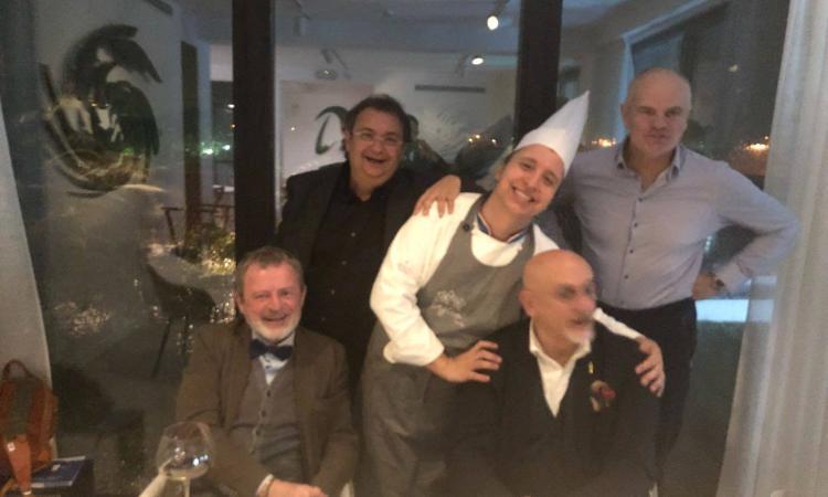 Lo chef della Regina d'Inghilterra a cena al Tiglio in Vita a Porto Recanati