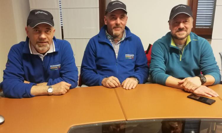 Monte Cavallo e Macerata, la solidarietà a quota 6.300