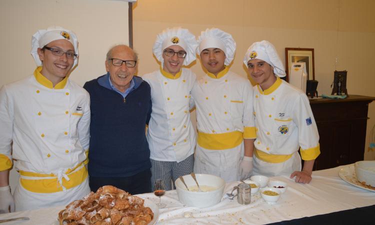 All'alberghiero di Cingoli si pranza con la legalità insieme a Salvatore Borsellino e Agende Rosse