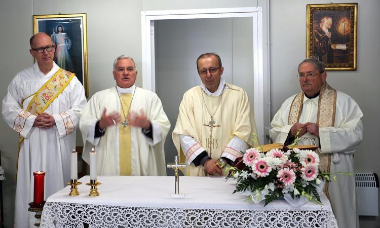 Monte Cavallo ha la sua nuova chiesa grazie alla solidarietà della Caritas di Parma