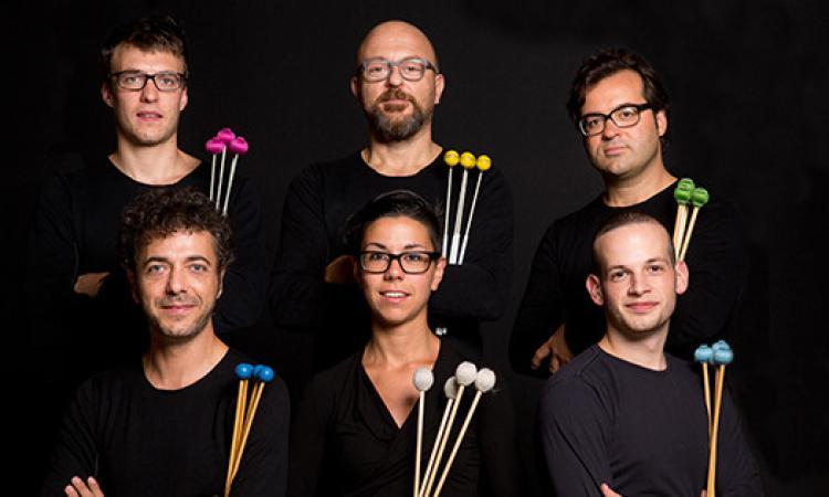 XXXVI Rassegna di Nuova Musica: protagonista del secondo concerto Tetraktis Percussioni
