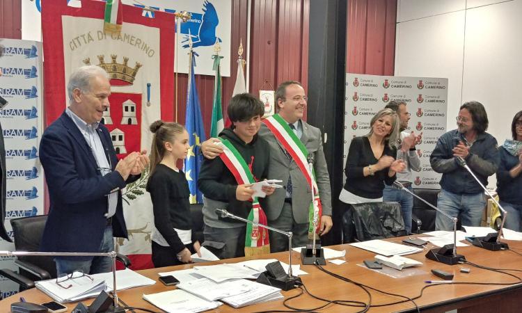 Insediato a Camerino il primo consiglio comunale dei ragazzi