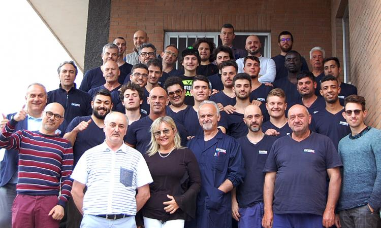 La Omaz partner del pilota Lorenzo Baldassarri