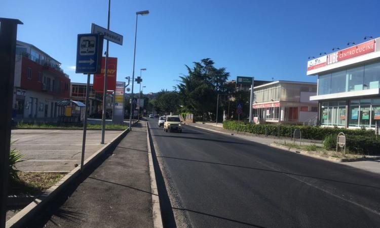 Completati i lavori di sistemazione lungo la provinciale Corridoniana