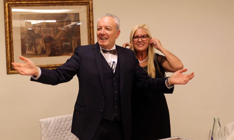 La festa per il pensionamento del commissario Rossano Re (Fotogallery)