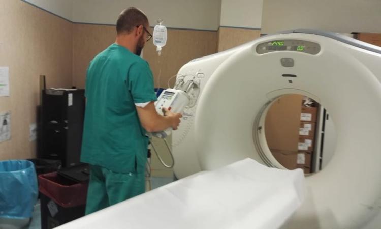 Ospedale di Civitanova: la Tac è di nuovo in funzione