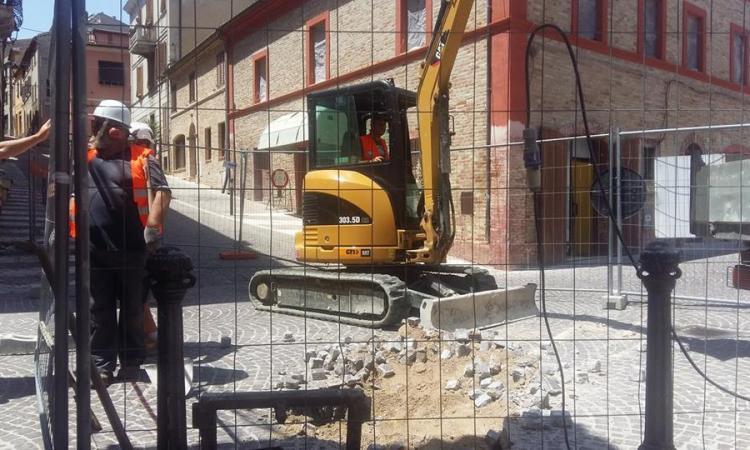 Potenza Picena, via ai lavori di via Mugellini