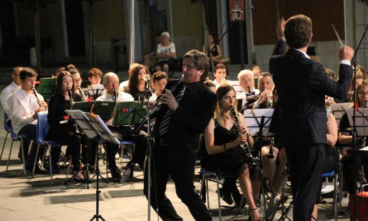 Apprezzato concerto a Lonato del Garda della Banda Città di Camerino