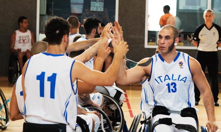 Basket in carrozzina, verso i Mondiali nel segno della Santo Stefano Sport di Porto Potenza