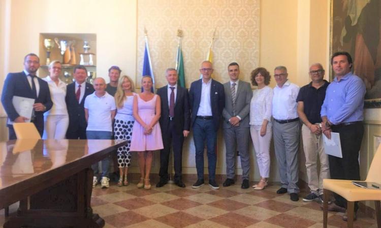 Delegazione croata da Sebenico a Mogliano e Civitanova: crescono i rapporti fra le due sponde dell'Adriatico - FOTO