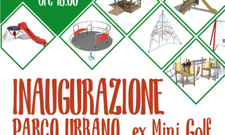 Sarnano: si inaugura il nuovo Parco Urbano