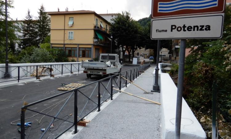 San Severino, riapre alla circolazione il ponte di via Collio