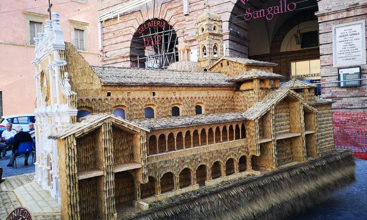 Tolentino, 70.000 spighe di grano per la ricostruzione della Basilica di San Nicola