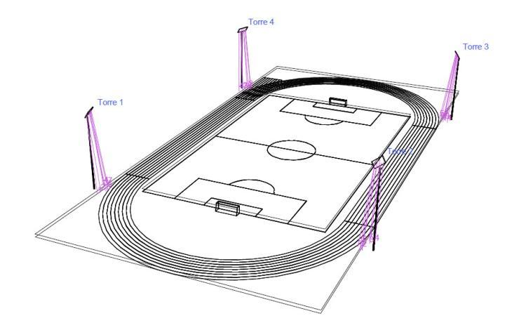 Recanati, intervento di restyling per lo stadio Tubaldi