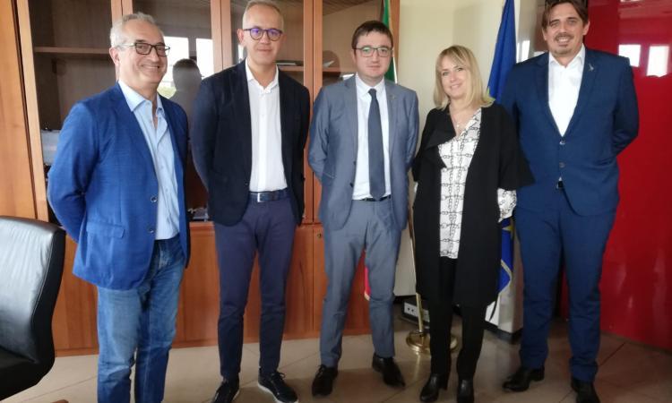 Civitanova, Ciarapica incontra il sottosegretario alla Sanità Maurizio Fugatti