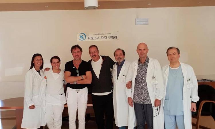 Villa dei Pini, Massimo Lopez in clinica: sorpresa del popolarissimo comico