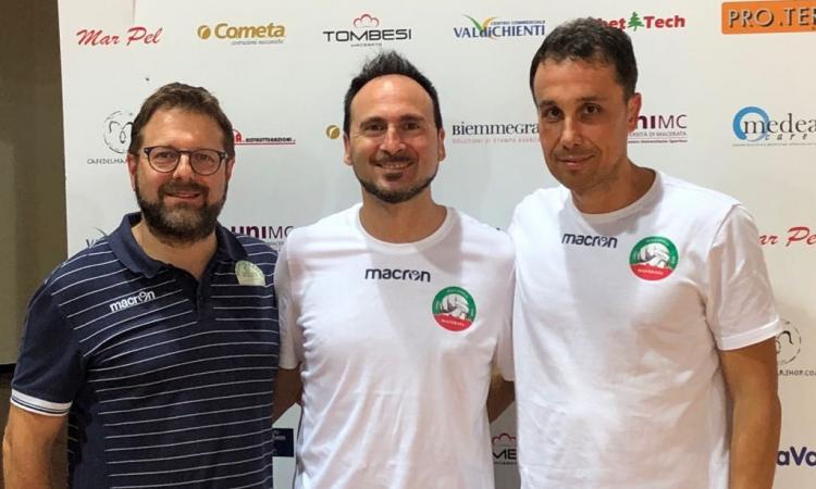 Tutto pronto in casa Menghi Shoes Macerata per l'esordio nel campionato di A2 di volley