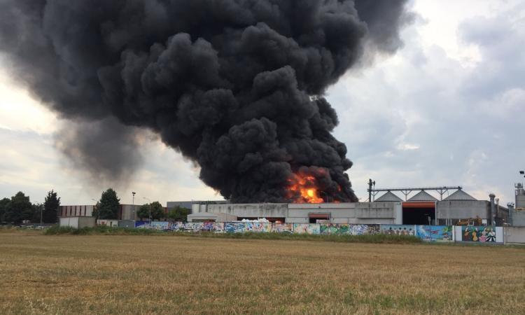 Incendio Orim, revoca delle ordinanze di divieto di captazione e utilizzo delle acque sotterranee