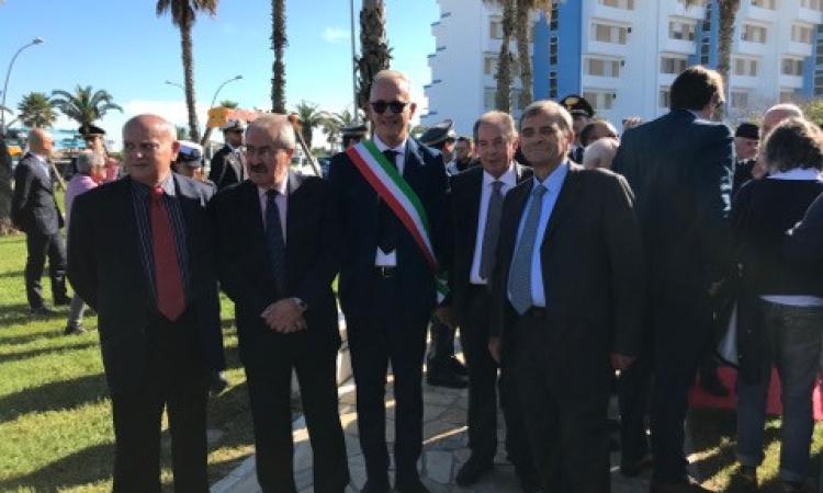 Inaugurato parco Calogero Zucchetto, da Civitanova un segnale forte di lotta alla mafia
