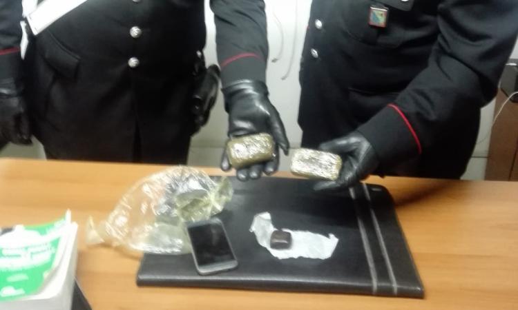 Appignano, trovata droga nell'abitazione: denunciato un 19enne