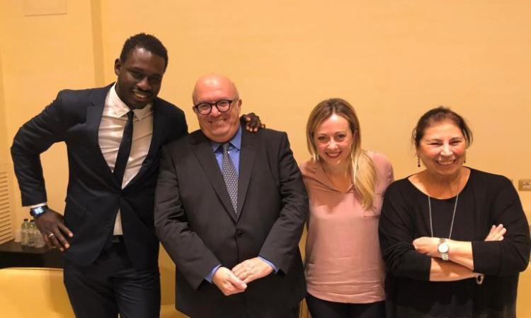 Colpaccio della Meloni: Paolo Diop è il nuovo responsabile nazionale immigrazione di Fratelli d'Italia