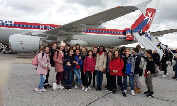 3^ media Civitanova Alta e Montecosaro, viaggio studio a Malta