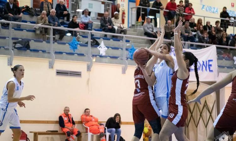 Basket femminile, La Feba Civitanova chiude il girone d'andata a Roma