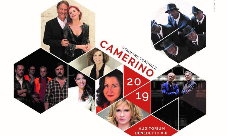 """Camerino, al via la stagione teatrale: si parte venerdì 18 gennaio con Cesare Bocci in """"Pesce d'Aprile"""""""