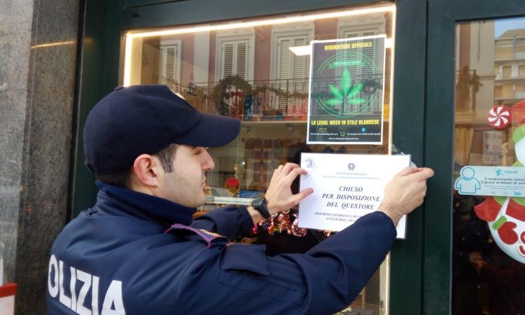 """Operazione """"cannabis legale"""": chiusa una rivendita """"Tabacchi e Giornali"""" (FOTO E VIDEO)"""