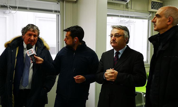 """Tolentino, Pezzanesi intervistato da Agorà: """"I container possono durare 10 anni"""" (VIDEO)"""