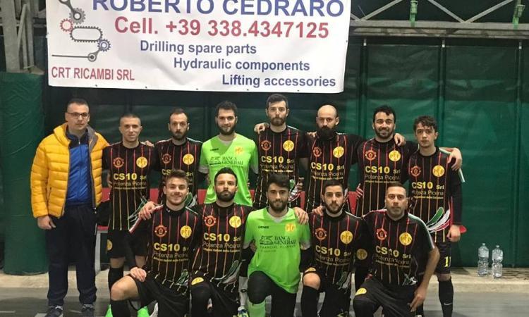 Il Futsal Potenza Picena non vince di un soffio: 5 a 5 contro la Nuova Juventina