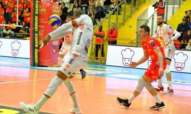 Volley, Superlega 2018/2019: Lube ko in quattro set contro Perugia