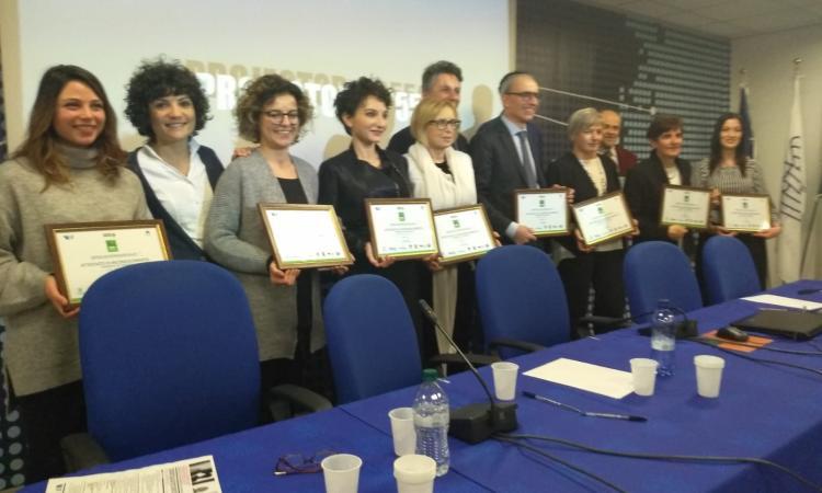 Confindustria Marche, cerimonia di premiazione delle aziende aderenti alla rete WHP