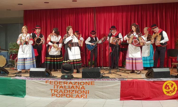 """"""" Li matti de Montecò"""" alla rassegna nazionale di musica popolare (Foto)"""