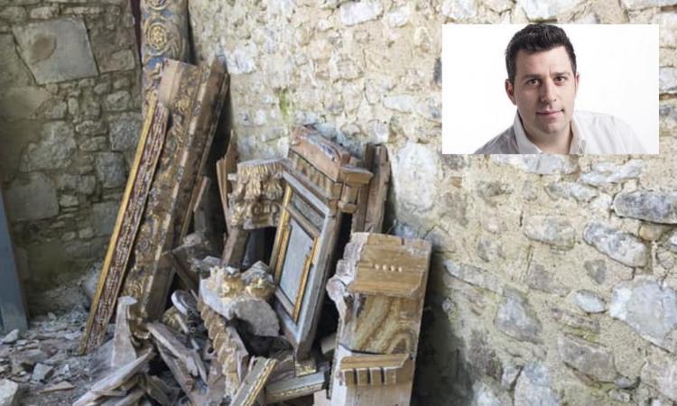 """Matelica, il sindaco Delpriori: """"Multato per aver salvato delle opere d'arte"""""""