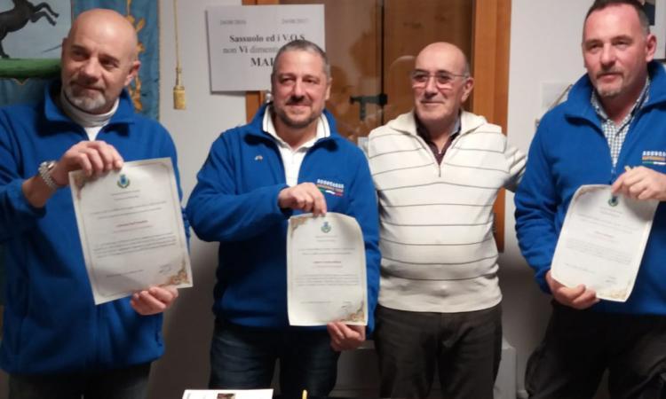 Monte Cavallo, Il sindaco Pietro Cecoli premia con la cittadinanza onoraria gli scalatori dell'Aconcagua