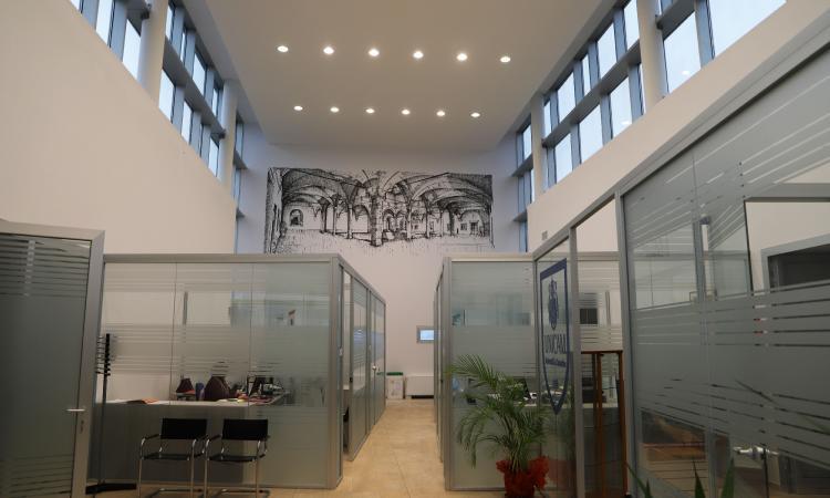 Il Quadriportico del Palazzo ducale al Campus: premiato il disegno di una studentessa