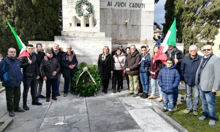 A San Severino Marche la commemorazione delle vittime delle Foibe
