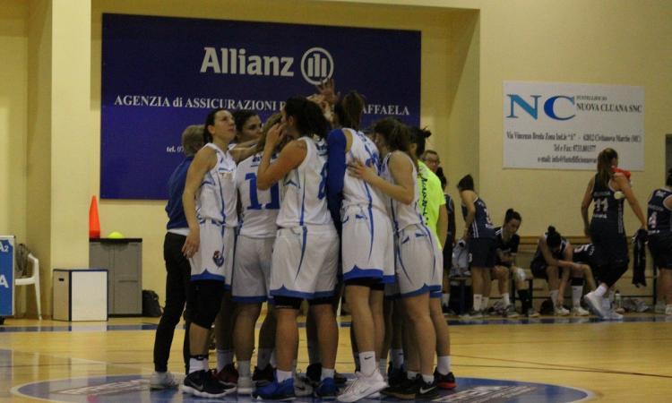 Basket, La Feba Civitanova batte Roma e inanella la terza vittoria consecutiva