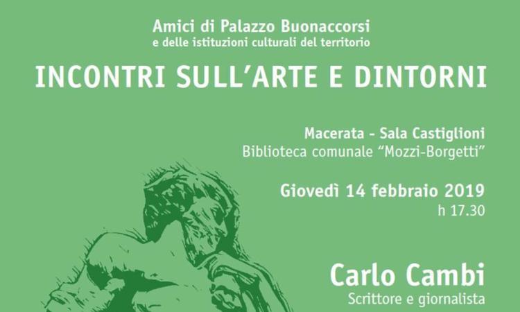 """Macerata, Incontri sull'arte e dintorni: giovedì """"Drink & Food l'arte del manifesto"""""""