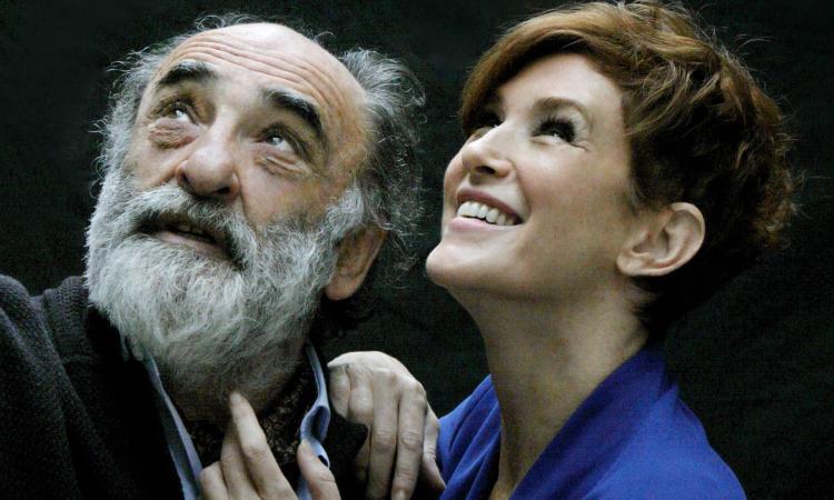 """Alessandro Haber e Lucrezia Lante della Rovere, al Teatro di San Severino Marche, con """"Il Padre"""""""