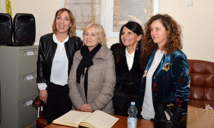 """""""Matria"""", grande successo per Giuliana Sgrena a Colmurano (FOTO)"""