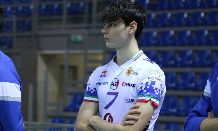 Volley Potentino, l'opposto Stefano Ferri in fase di recupero per i prossimi impegni