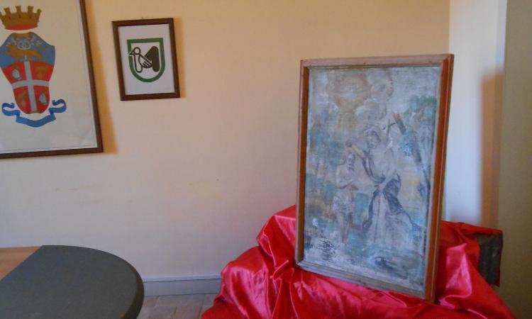 Recanati, i Carabinieri rinvengono un quadro del VXII secolo rubato a Campli