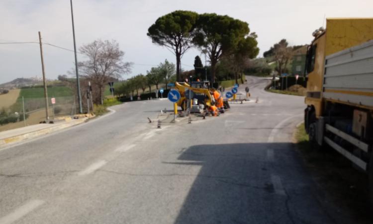 Montelupone-Potenza Picena, al via i lavori di parte del manto stradale della Potentina