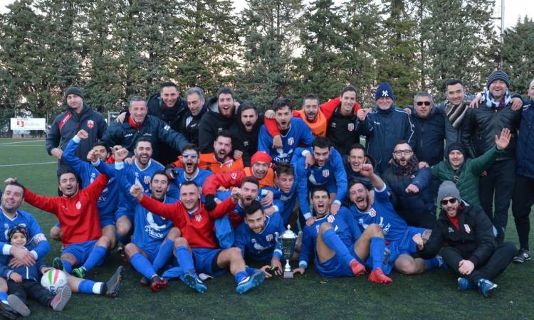 Coppa Marche Terza Categoria, l'Atletico Macerata si impone fuori casa contro Monteprandone